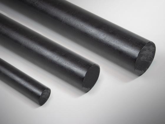 Polyethylenové tyče PE1000, černý