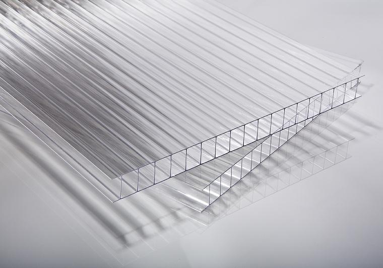 Polykarbonátová deska čirá 16 mm IR ECO (dvoustěnná)