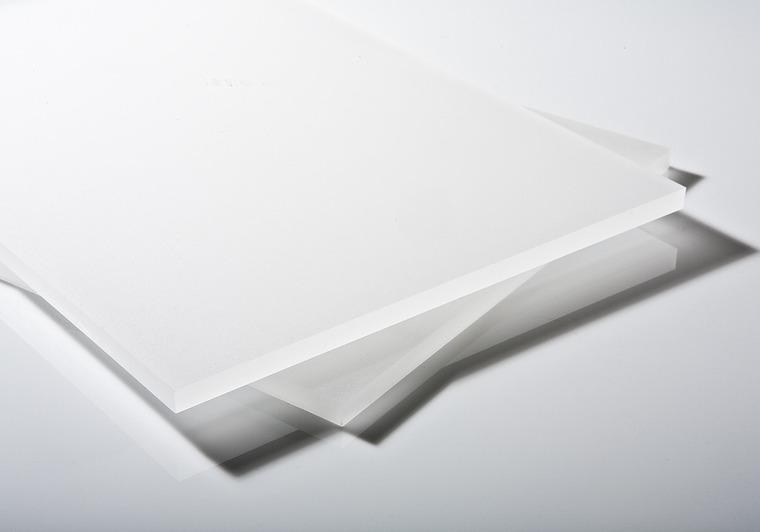 Plexisklo bílé satinované 4mm