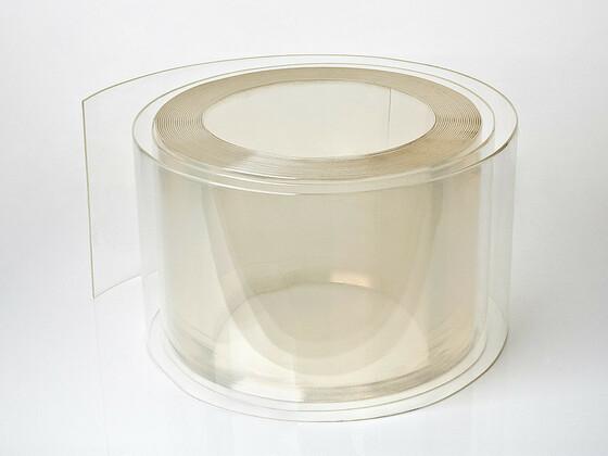 Měkčený PVC pás Mrazírenská čirá 200/2 mm