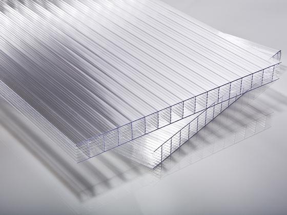 Polykarbonátová deska čirá 7W (sedmistěnná) 20 mm
