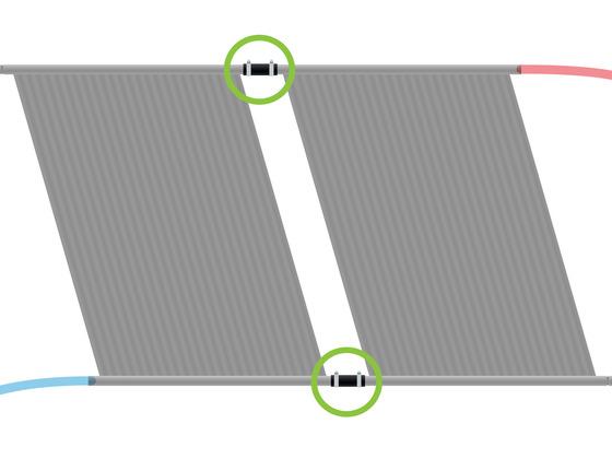 Sada pro připojení dalšího panelu (d32)