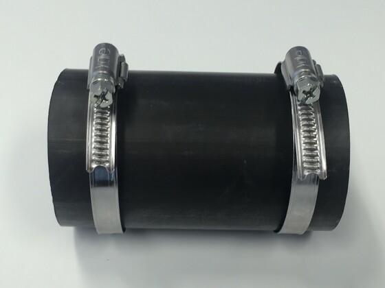 EPDM spojka 50mm, včetně dvou spon