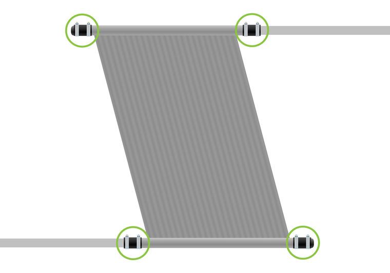 Sada pro připojení a zaslepení panelu (d50)