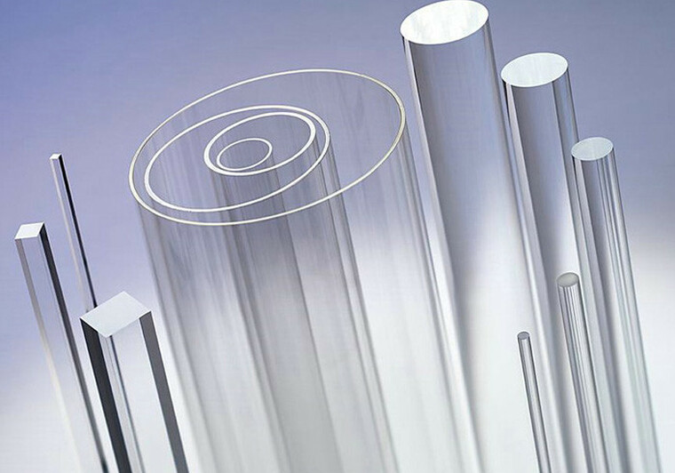 Extrudované trubky z plexiskla - čiré