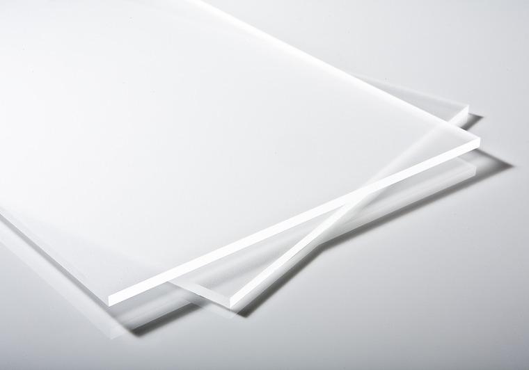 Plexisklo čiré satinované 5 mm