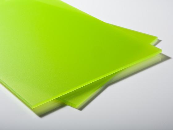 Plexisklo zelené satinované 4mm