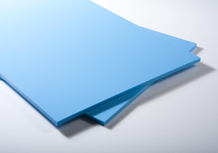 Bazénová deska PP-C světle modrá dezénová