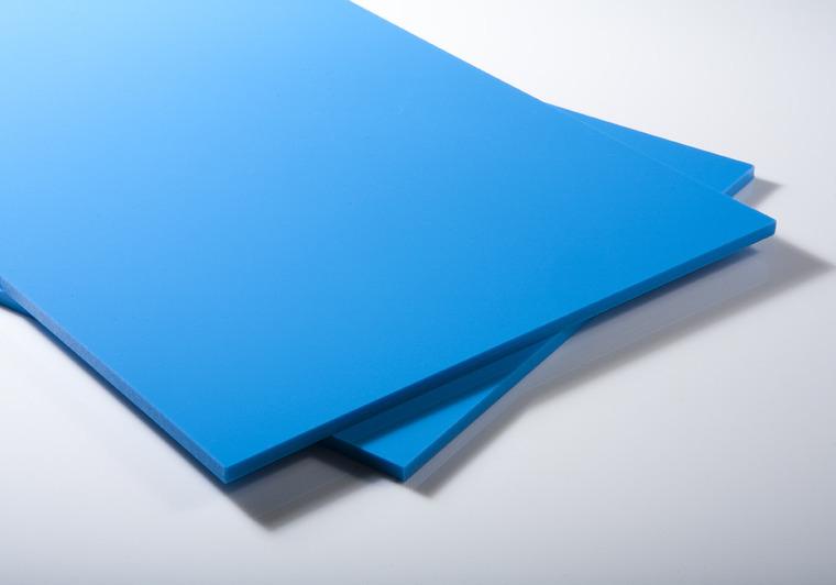 Bazénová deska PP-C karibská modrá s UV stabiliuací