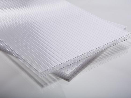 Polykarbonátová deska opál 10 mm čtyřstěnná