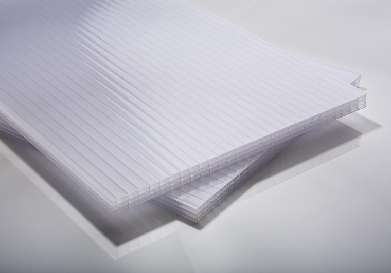 Polykarbonátová deska opál 10 mm 4W (čtyřstěnná)