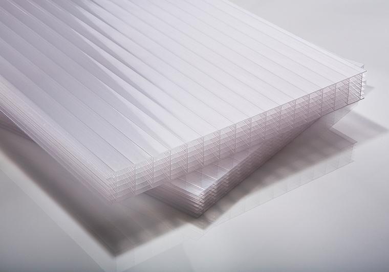 Polykarbonátová deska opál 7W (sedmistěnná) 25 mm