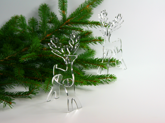 Vánoční sobík (10ks)