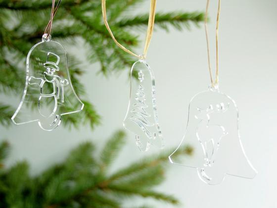 Vánoční sada zvonečků