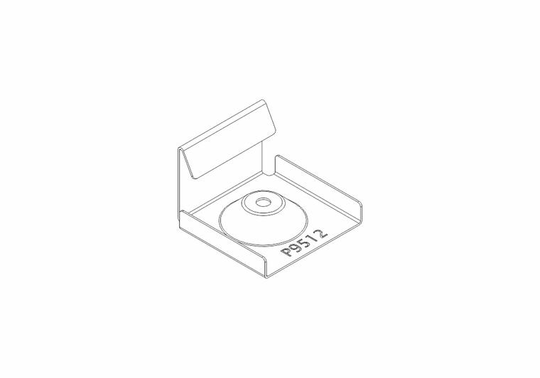 Nerezové spony (10ks)