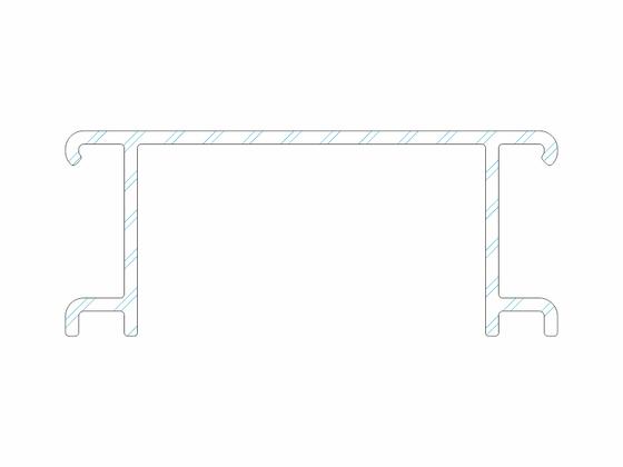 Ventilační mřížka k terasovému profilu basic P 9555