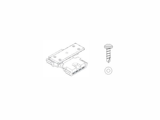 Set - PVC spony (100ks) + šrouby (110ks)
