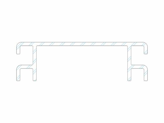 Ventilační mřížka k terasovému profilu Massive P 9360