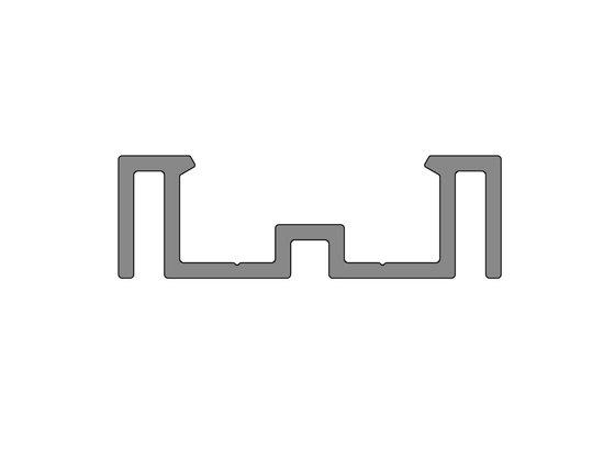 Podkladový hliníkový profil nenosný, 50x16 mm, délka 6 m