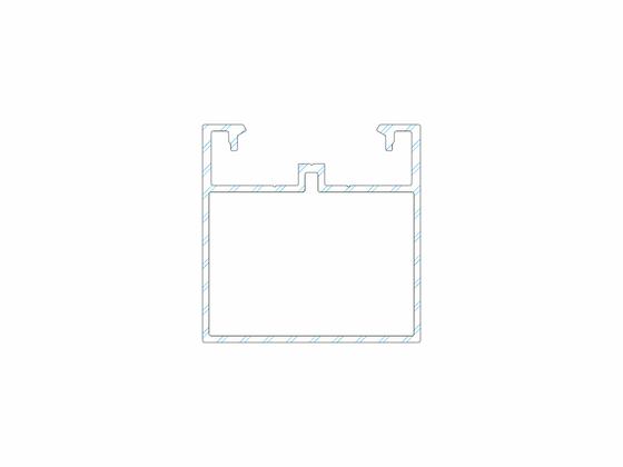 Podkladový hliníkový profil, 50x50 mm