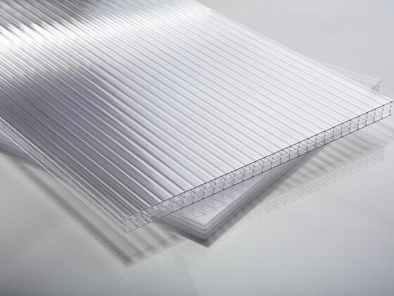 Polykarbonátová deska čirá 10 mm čtyřstěnná