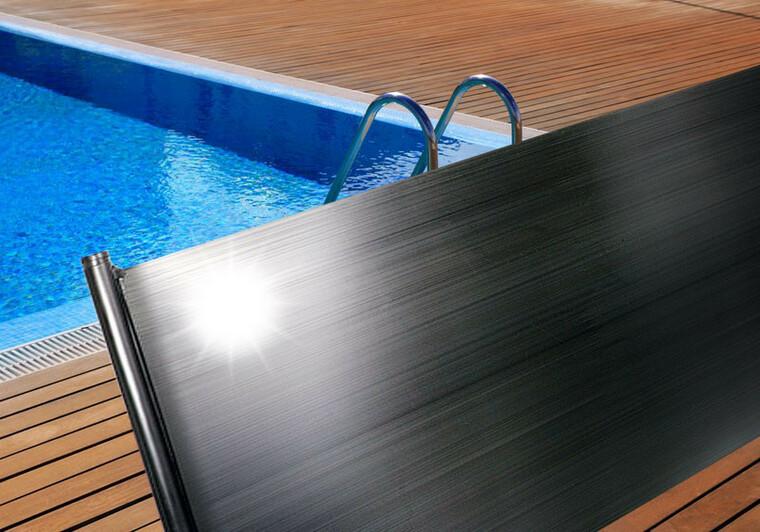 Solární ohřev bazénu HOBBY 1,2x4 m, přípojka d32 mm