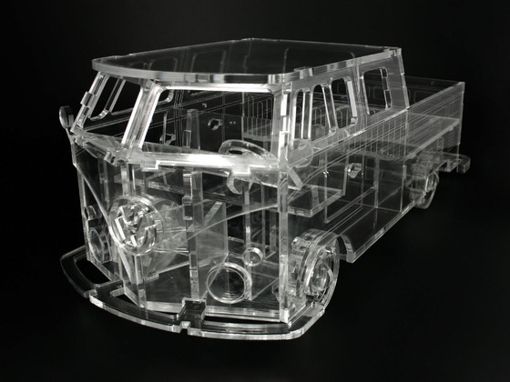 Model Volkswagen Transporter