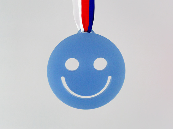 Medaile smajlík