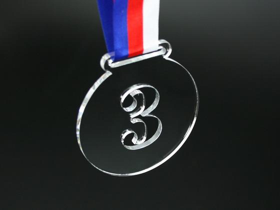 Medaile 3. místo s uchycením pro stuhu