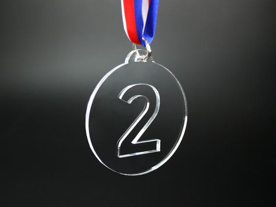Medaile 2. místo