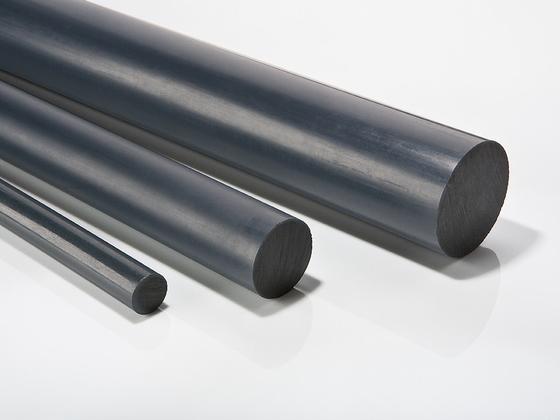 Polyvinylchloridové tyče, PVC-U