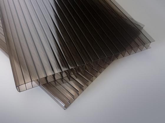 Polykarbonátová deska bronz 8 mm 2W