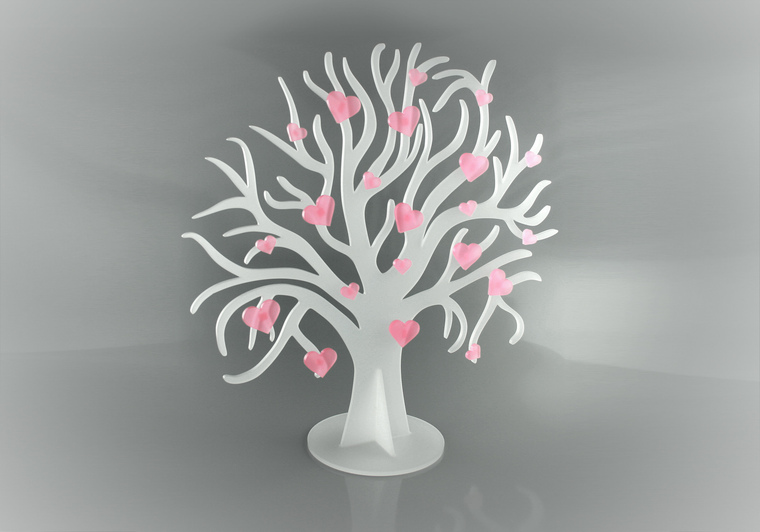 Svatební strom 3D