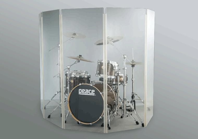 Akustická stěna z plexiskla MAXI