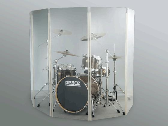 Akustická stěna z polykarbonátu MAXI