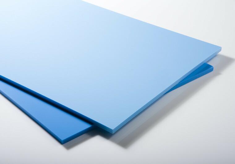 Bazénová deska PP-C středně modrá 3000x1500x10m