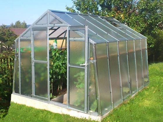 Polykarbonátový skleník K3
