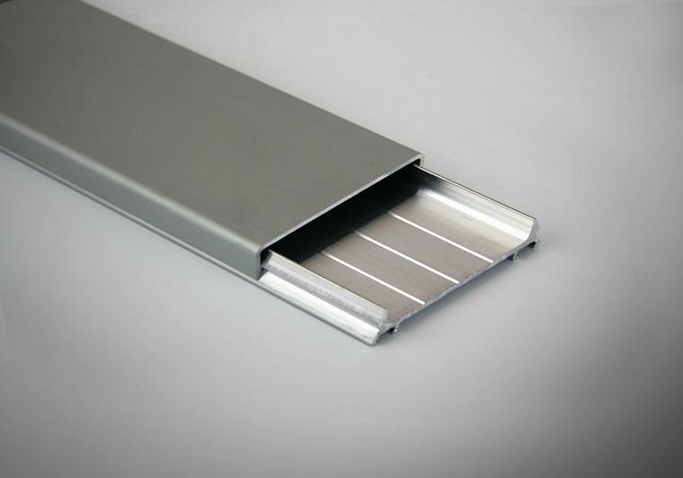 Sada hliníkových profilů EXCLUSIVE - ELOX stříbrný