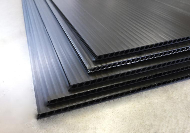 Černá deska AKYLUX 1200x2000mm - balení po 3ks