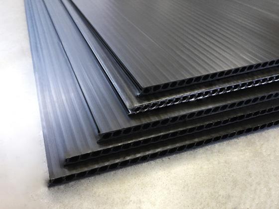Černá deska AKYLUX 1200x2500mm - balení po 3ks