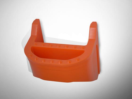 Stupadlo PP oranžové