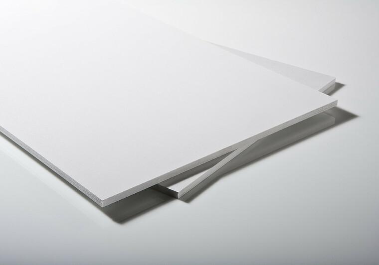 PP lehčená deska bílá 1200x1000x8 mm