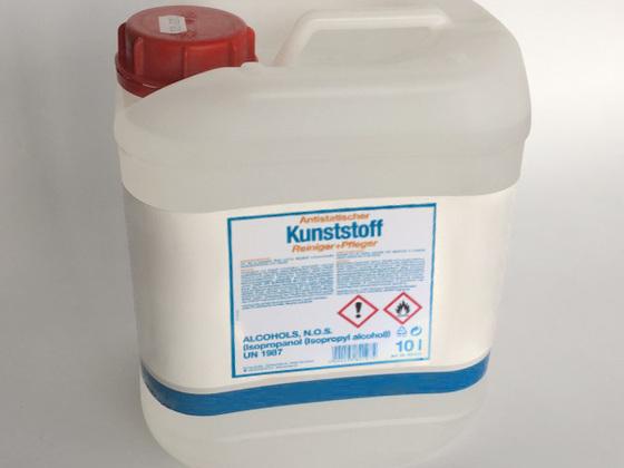 Antistatický čistič na plasty 10 l