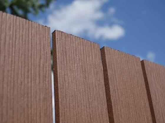 Dřevoplastové plotovky palisandr, 120x11 mm