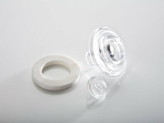 Přítlačný terčík polykarbonát 8mm