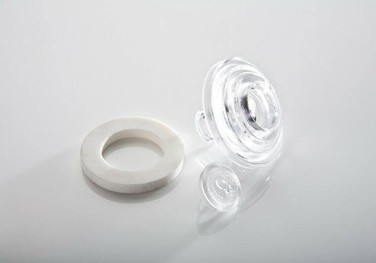 Přítlačný terčík polykarbonát 10mm