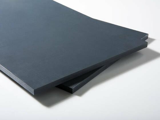 PVC-U deska 2000x1000x25mm, šedá