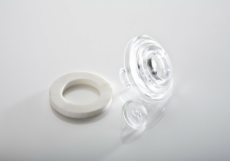 Přítlačný terčík polykarbonát 16mm