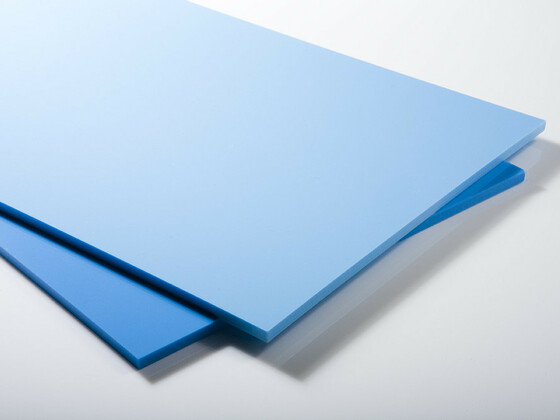 Bazénová deska PP-C 4000x1500x8mm,  modrá ocelová s UV stab.+f.
