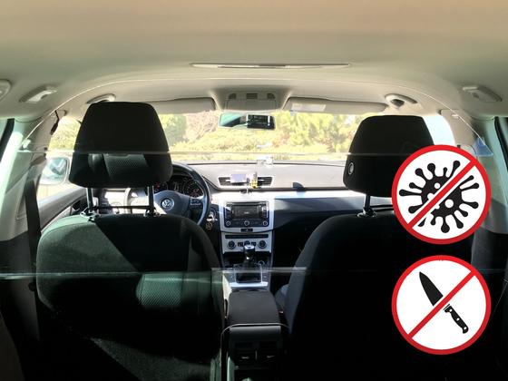 Ochranný štít SAFETY CAB pro vozy Volkswagen Passat